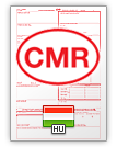 International Consignment Note CMR (english & magyar)