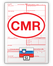International Consignment Note CMR (english & slovenščina)