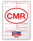 International Consignment Note CMR (english & slovenčina)