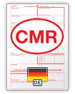 International Consignment Note CMR (english & deutsch)