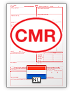 International Consignment Note CMR (english & nederlands)